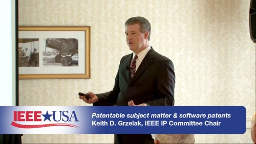 Patentable Subject Matter and Software Patents - IEEE USA