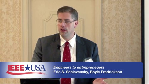 Engineers to Entrepreneurs - IEEE USA
