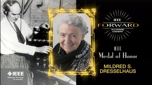 2015 IEEE Honors: IEEE Medal of Honor - Mildred S. Dresselhaus
