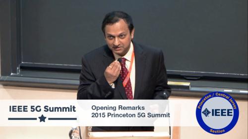 Princeton 5G Summit 2015 - Ashutosh Dutta Opening Remarks