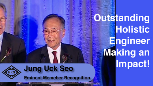 HKN Member Jung Uck Seo Receives Award at 2012 EAB Awards Ceremony