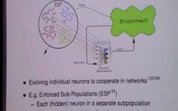 Evolving Neural Networks. Risto Miikkulainen