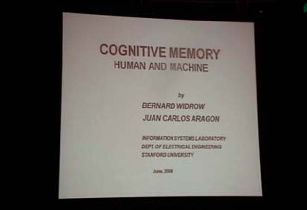 Cognitive Memory and its Applications : Part 1