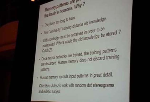 Cognitive Memory: Human and Machine : Part 2