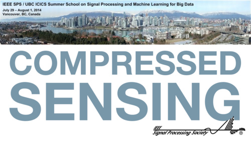 Compressed Sensing: An Overview