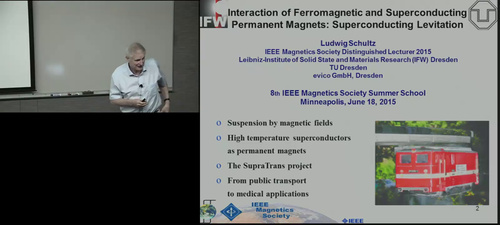 Interaction of ferromagnetic and superconducting permanent magnets - superconducting levitation