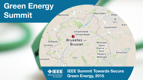 IEEE Green Energy Summit 2015: Program Overview