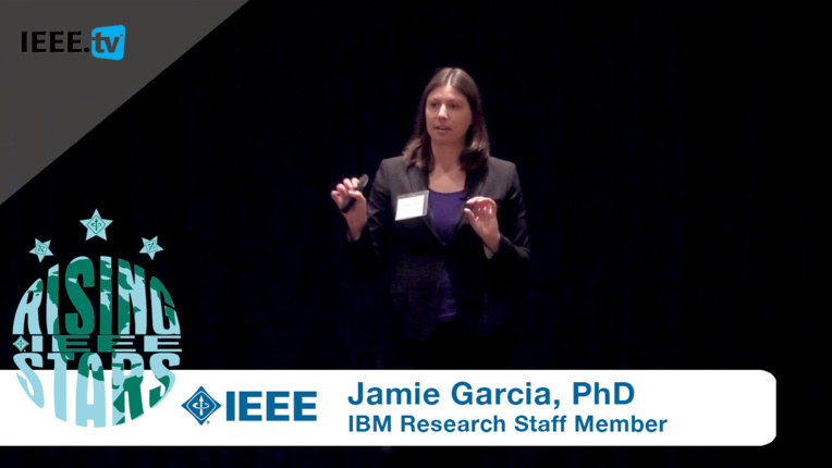 IBM Researcher Dr. Jamie Garcia Explores Sustainable Polymers at Rising Stars 2016