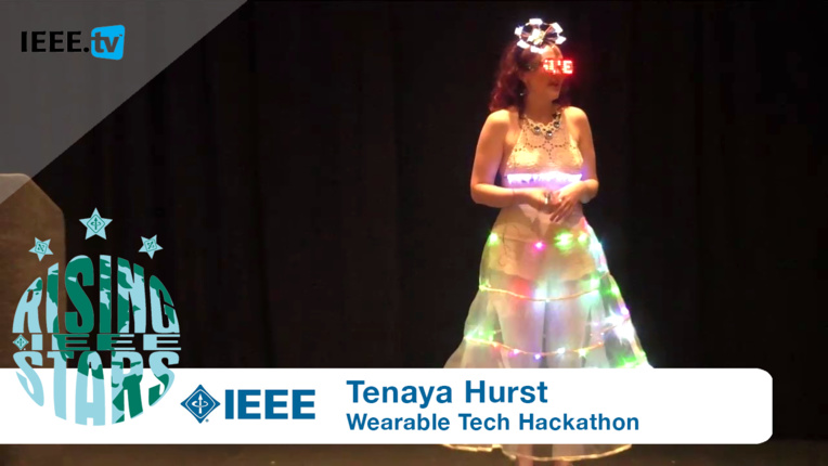 Keynote Maker Tenaya Hurst Lights Up the Stage at Rising Stars 2016