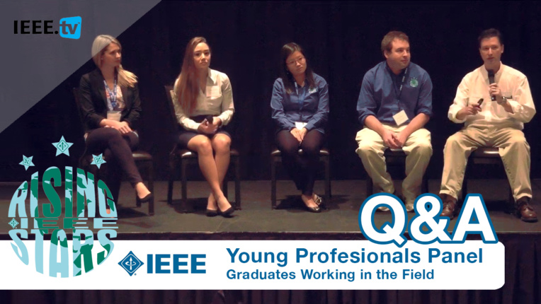 Young Professionals Panel at Rising Stars 2016