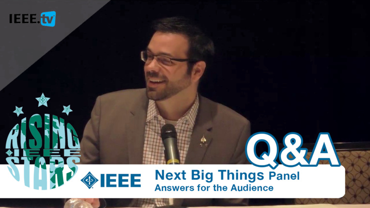 Next Big Things Panel Q&A at Rising Stars 2016