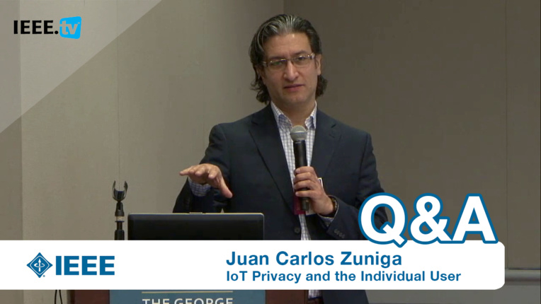 Designing Privacy Into Internet Protocols - Juan Carlos Zuniga keynote