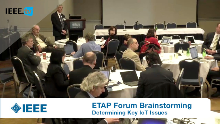 Brainstorming Key Issues for Breakout Sessions: ETAP Forum, February 2016