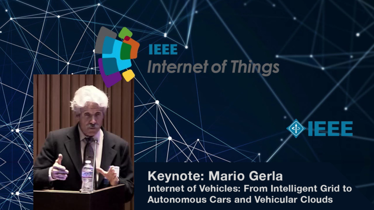 Keynote: Mario Gerla on Internet of Vehicles - WF-IoT 2015