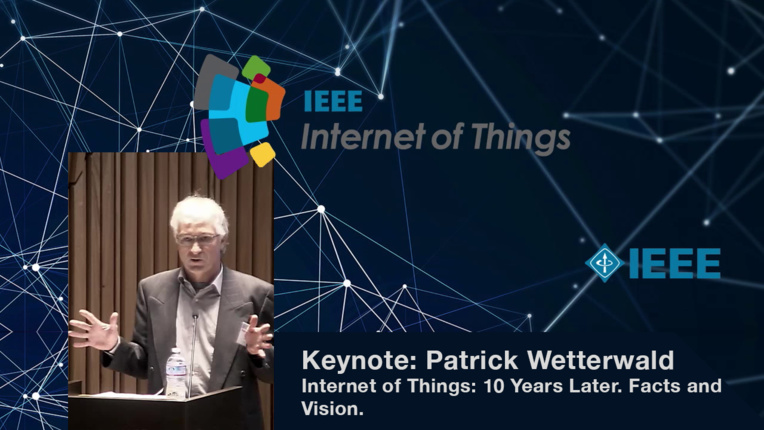 Keynote: Patrick Wetterwald on IoT Advancement - WF-IoT 2015