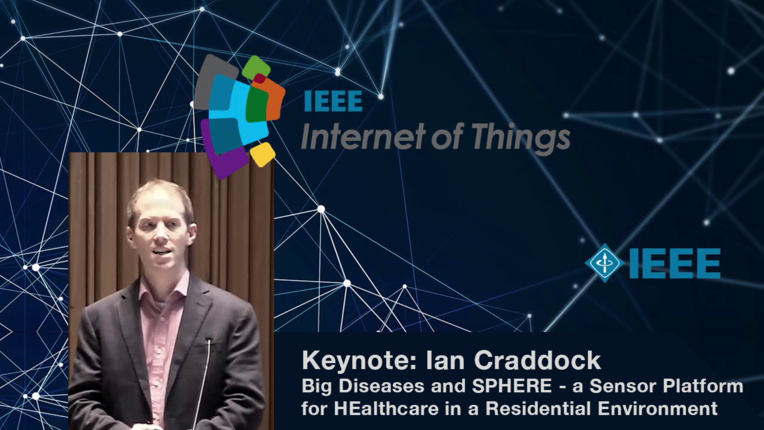 Keynote: Ian Craddock on the Internet of Things and Big Diseases - WF-IoT 2015