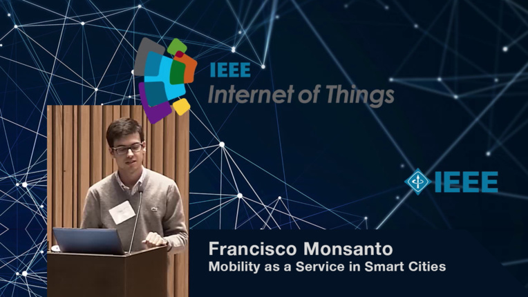 Francisco Monsanto on Mobility as a Service in Smart Cities: WF-IoT 2015