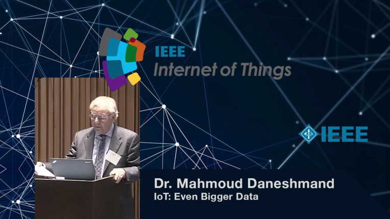 Mahmoud Daneshmand on IoT and Big Data Analytics: IoT: Even Bigger Data