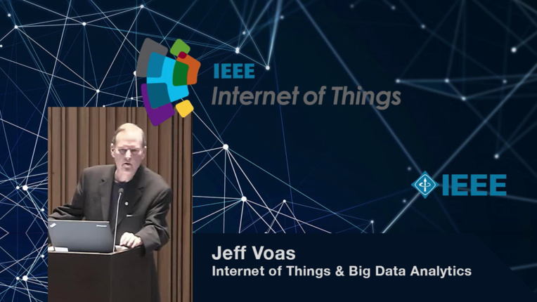 Jeff Voas on the Internet of Things and Big Data Analytics - WF-IoT 2015