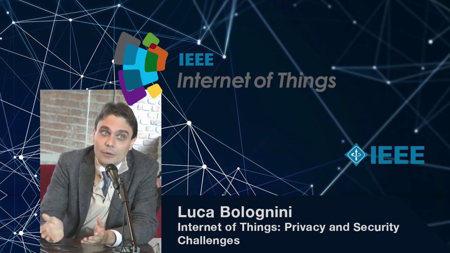 Luca Bolognini: Internet of Things: Privacy and Security Challenges - WF-IoT 2015