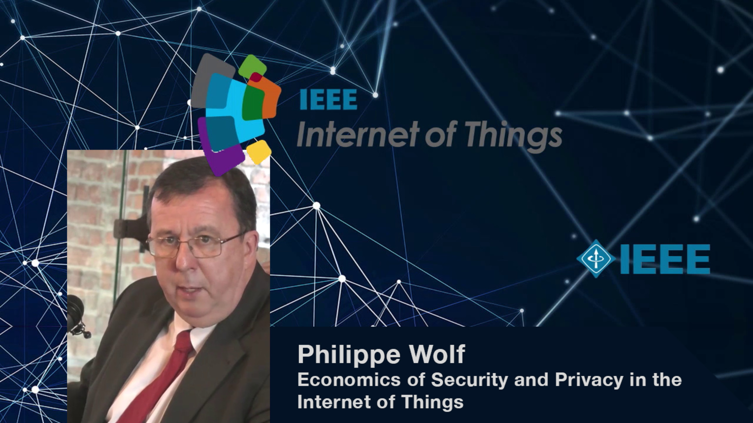 Philippe Wolf: Designing Secure and Private Complex Data Systems - WF-IoT 2015