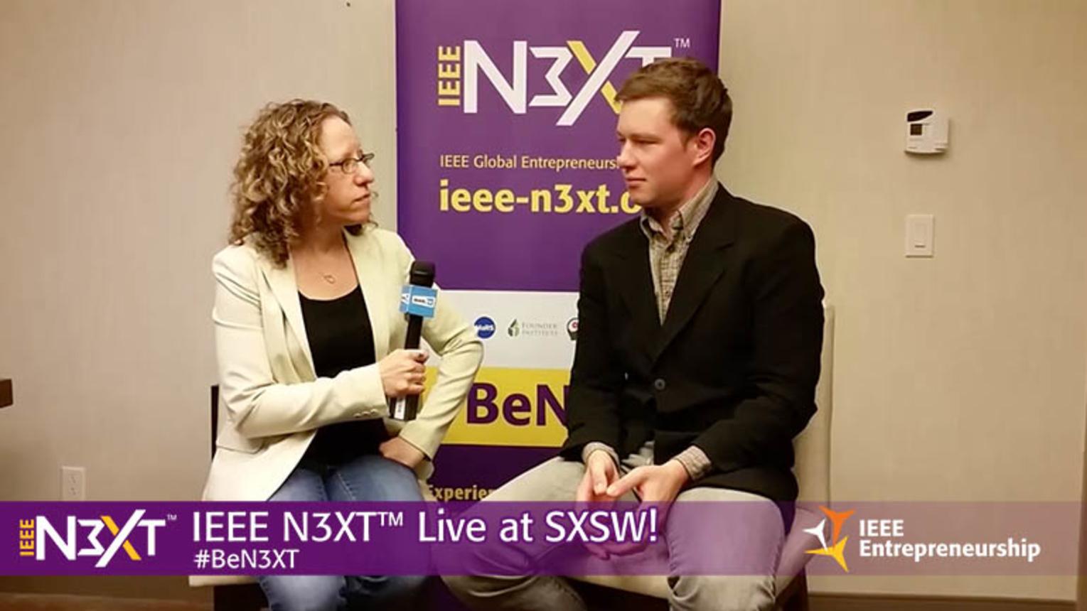IEEE N3XT @ SXSW 2016: Andrew Krause, EECOSphere