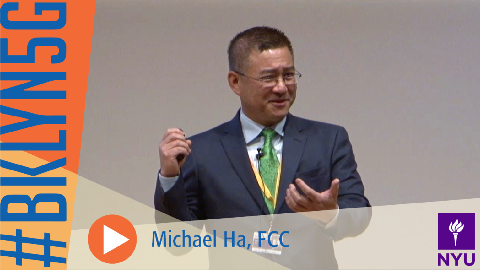 Brooklyn 5G Summit 2014: Michael Ha on US Spectrum Status for Higher Speed