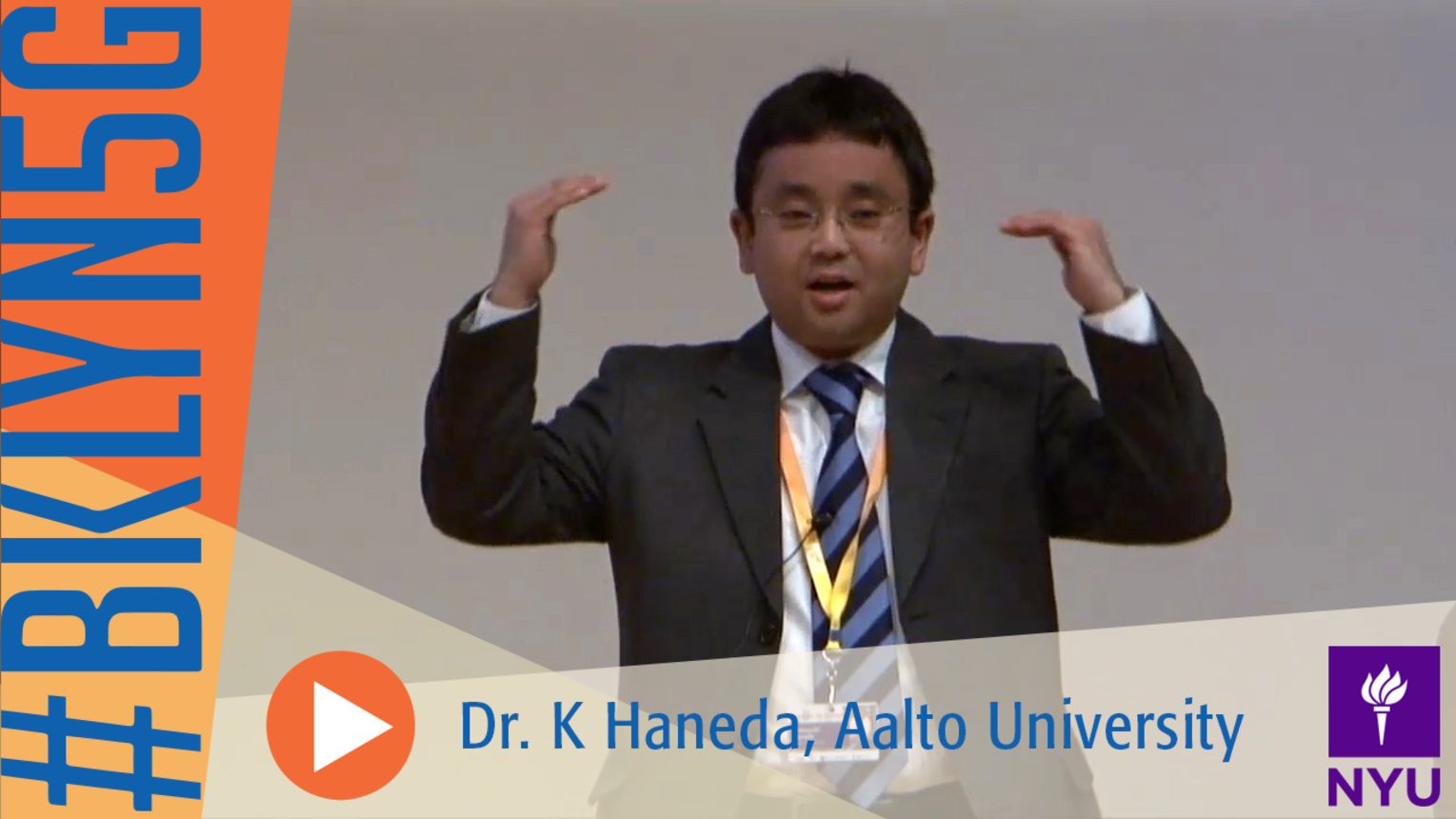 Brooklyn 5G Summit 2014: Modeling the Indoor Radio Propagation with Dr. K Haneda