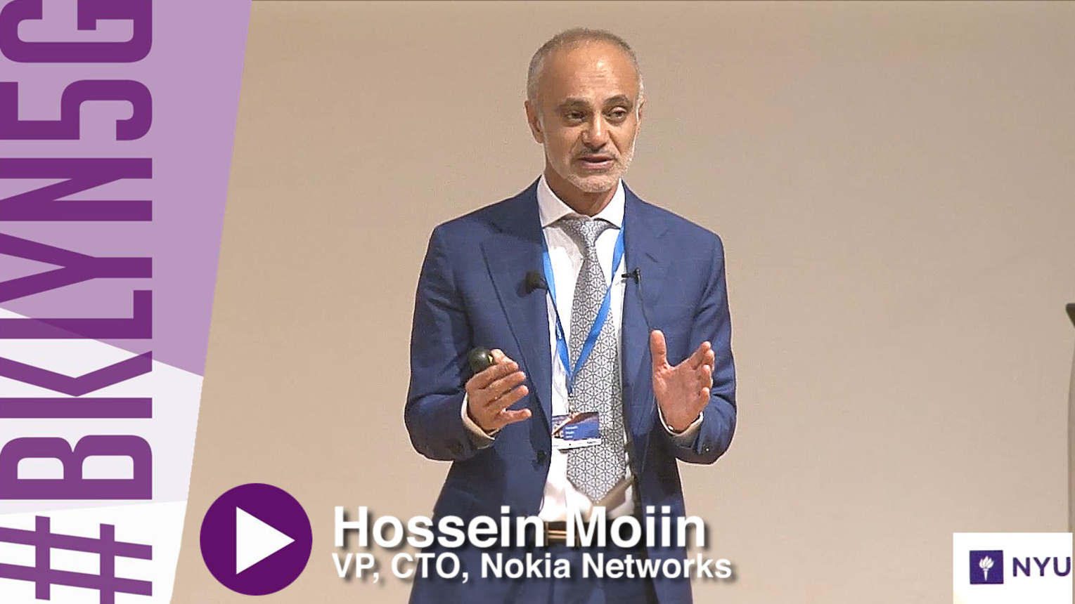 Brooklyn 5G - 2015 -  Hossein Moiin - Expanding the Human Possibilities with 5G