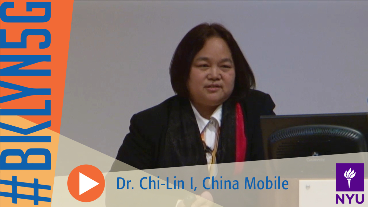 Brooklyn 5G Summit 2014: CMRI Vision on 5G by Dr. Chih-Lin I