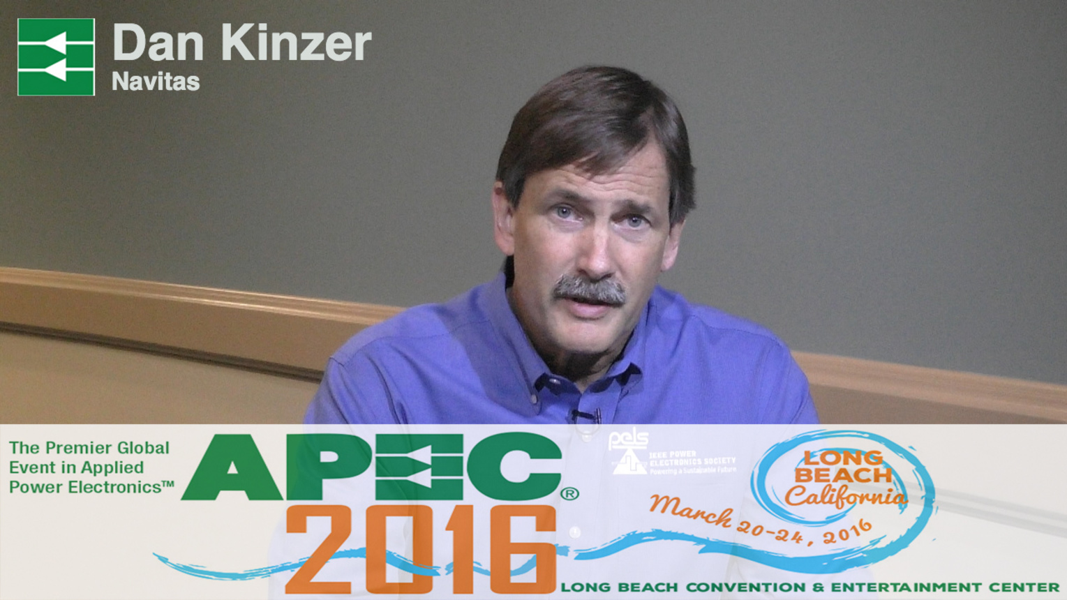 Breaking Speed Limits with GaN Power ICs - Dan Kinzer at APEC 2016