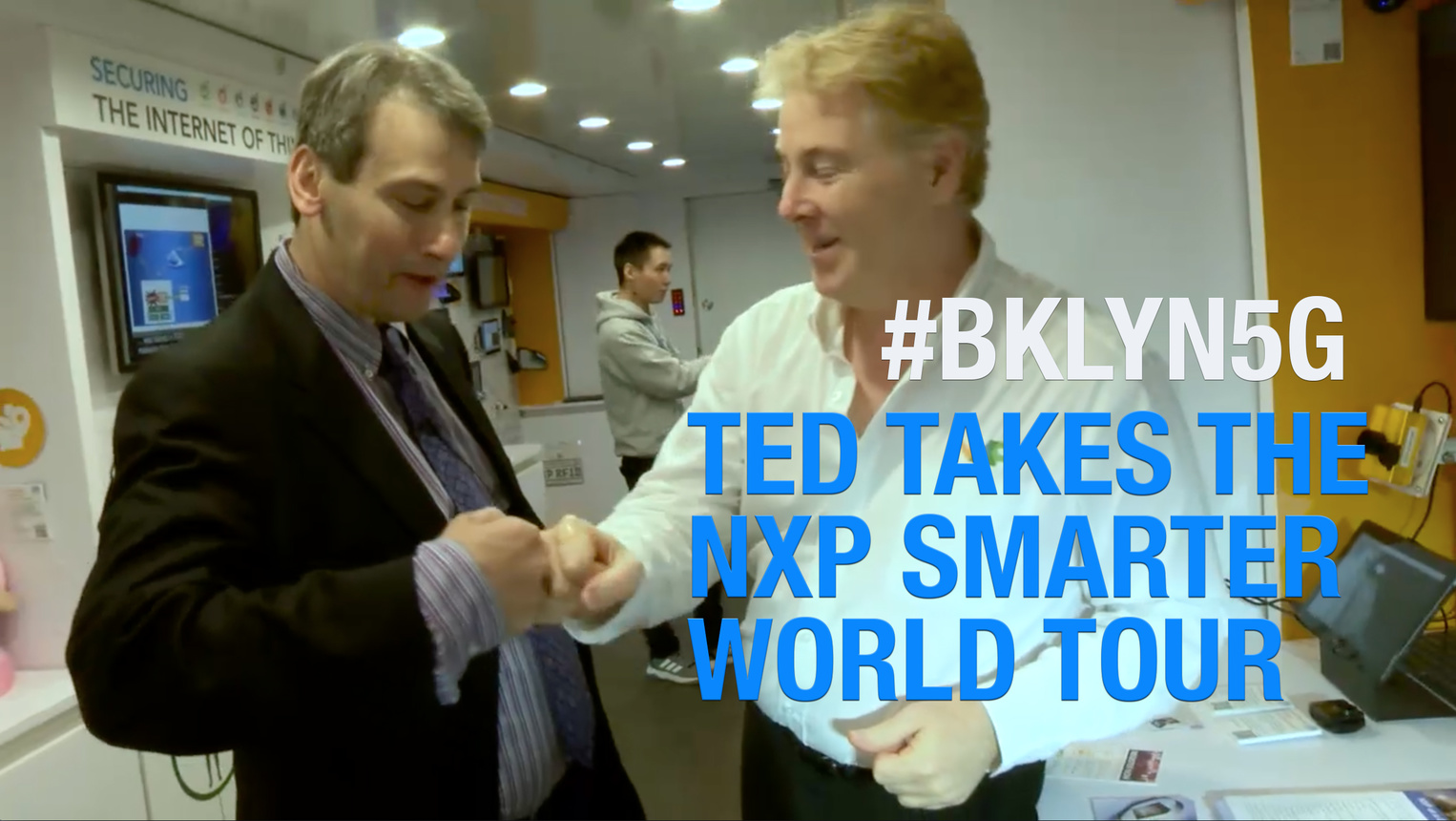 NXP Smarter World Tour Truck with Ted Rappaport: Brooklyn 5G Summit