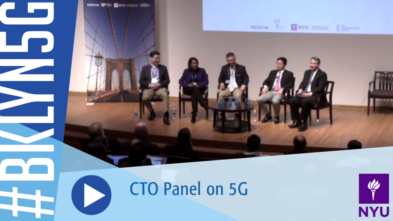 Brooklyn 5G 2016: CTO Panel on 5G