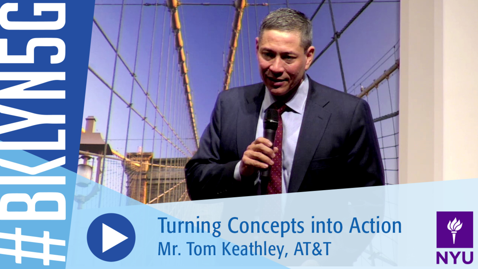 Brooklyn 5G 2016: Mr. Tom Keathley on 5G Preparation and Carrier Eco-System