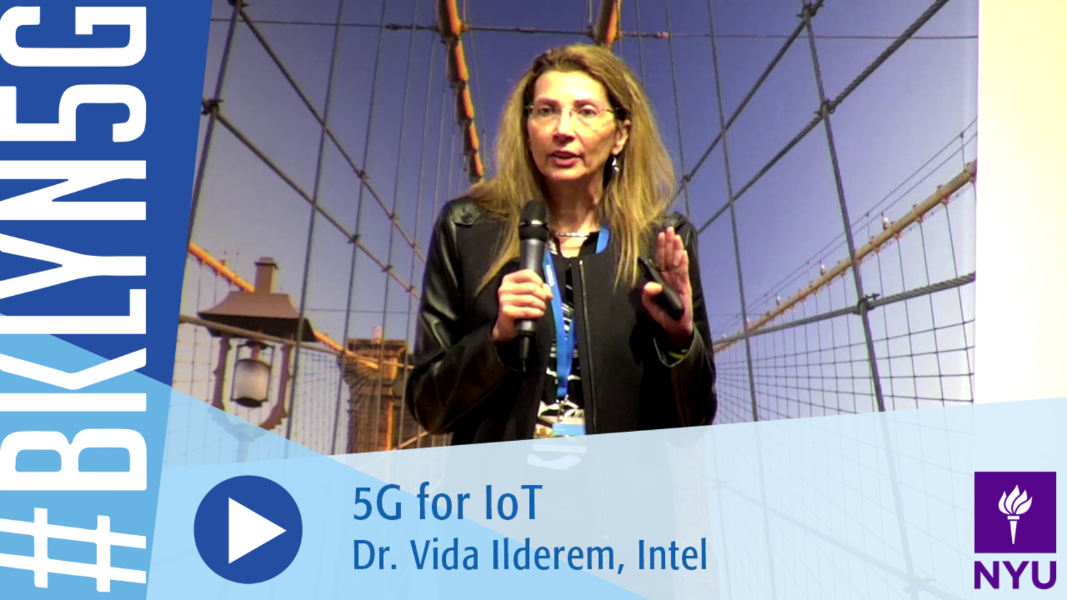 Brooklyn 5G 2016: Dr. Vida Ilderem on 5G for IoT