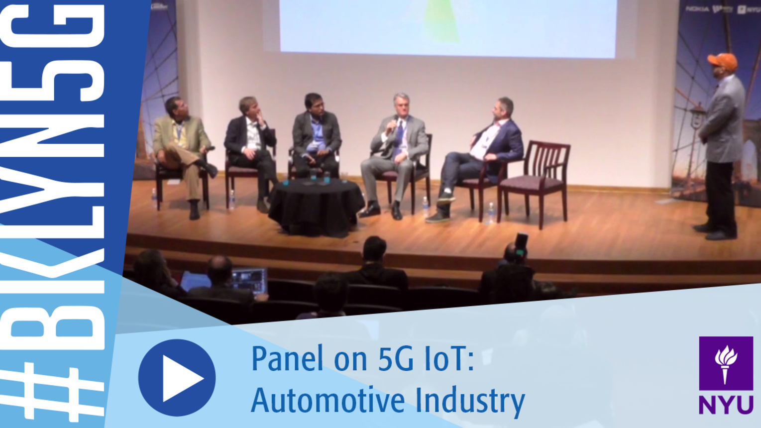 Brooklyn 5G 2016: 5G IoT: Automotive Industry