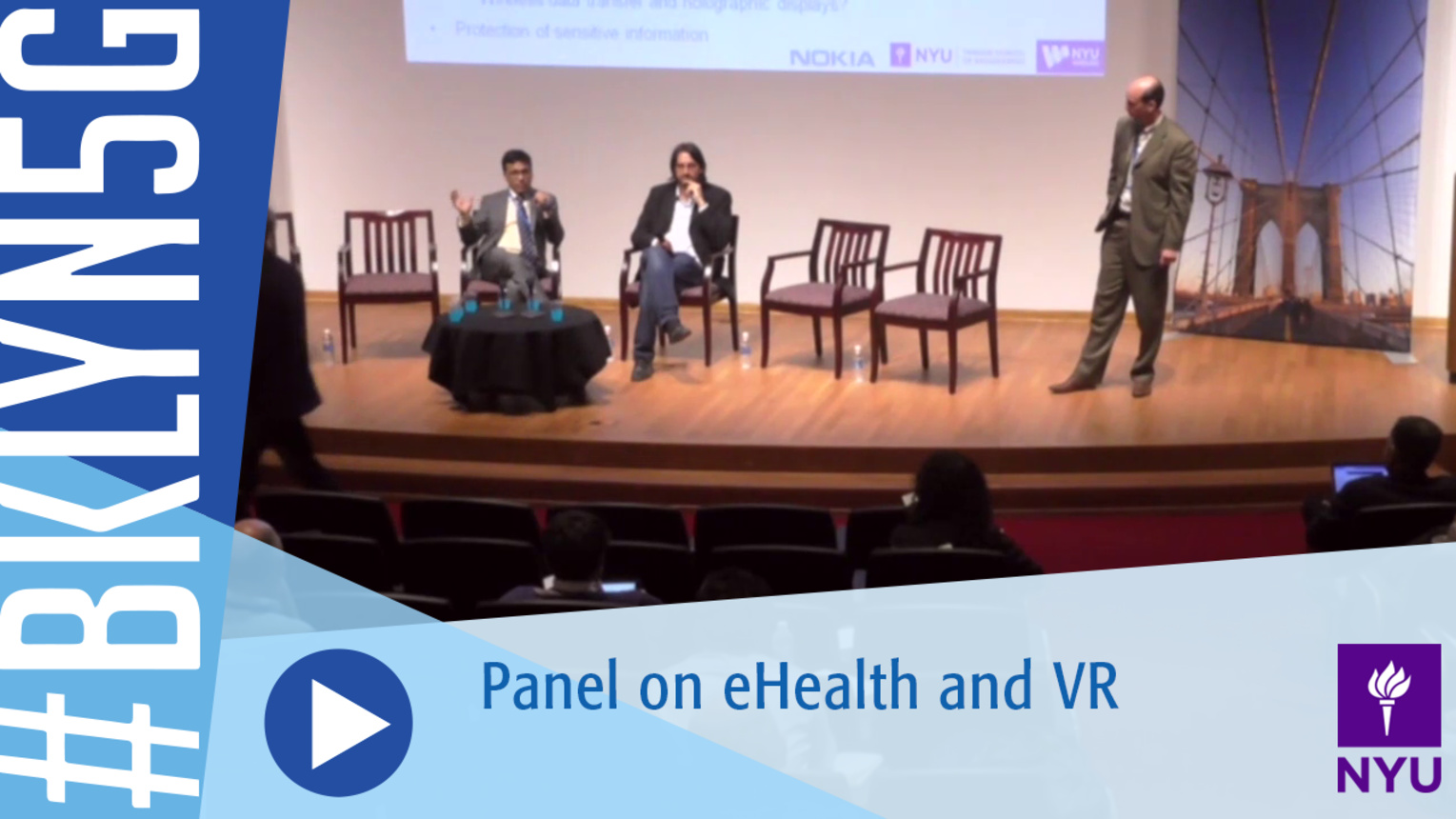 Brooklyn 5G 2016: Panel on eHealth and Virtual Reality
