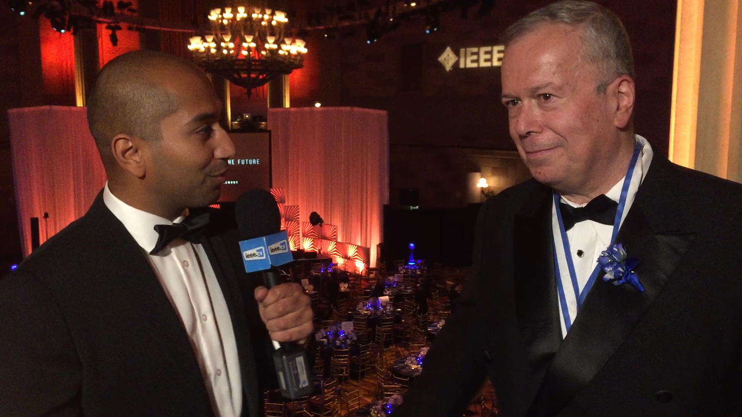 Moshe Kam - IEEE Honors Ceremony 2016 Red Carpet Interview