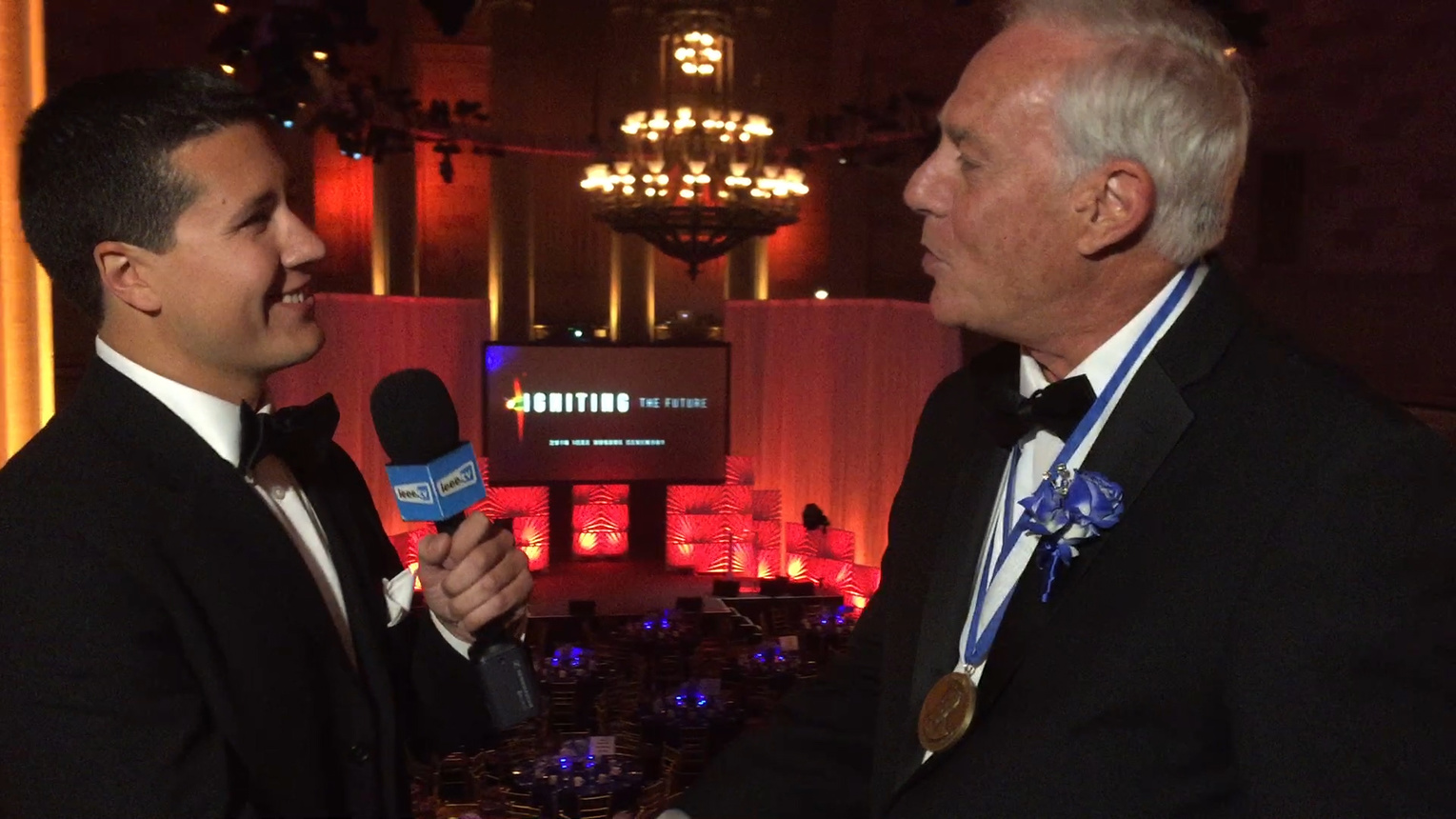 Roberto Padovani - IEEE Honors Ceremony 2016 Red Carpet Interview