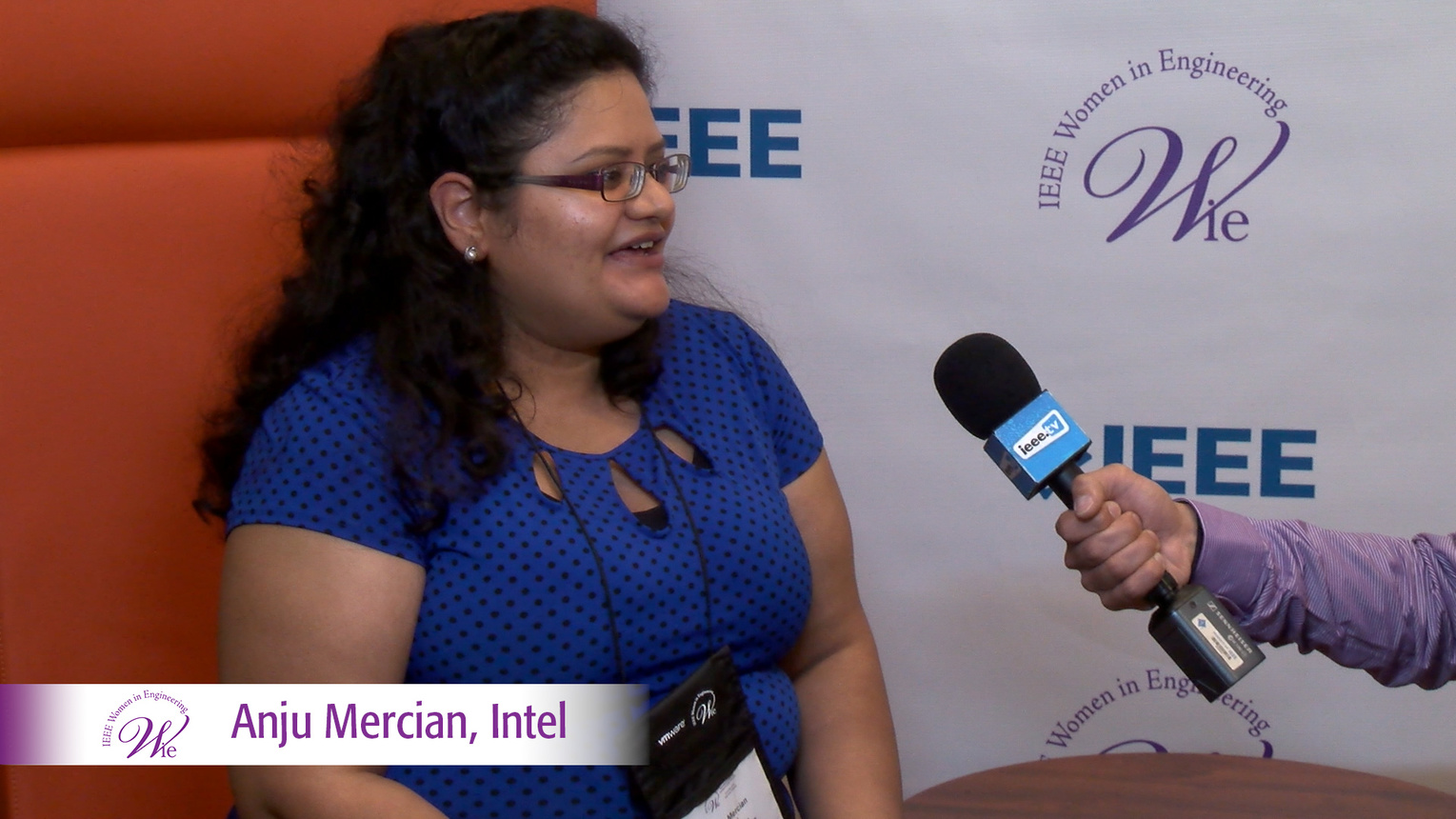 Anju Mercian from Intel at WIE ILC 2016