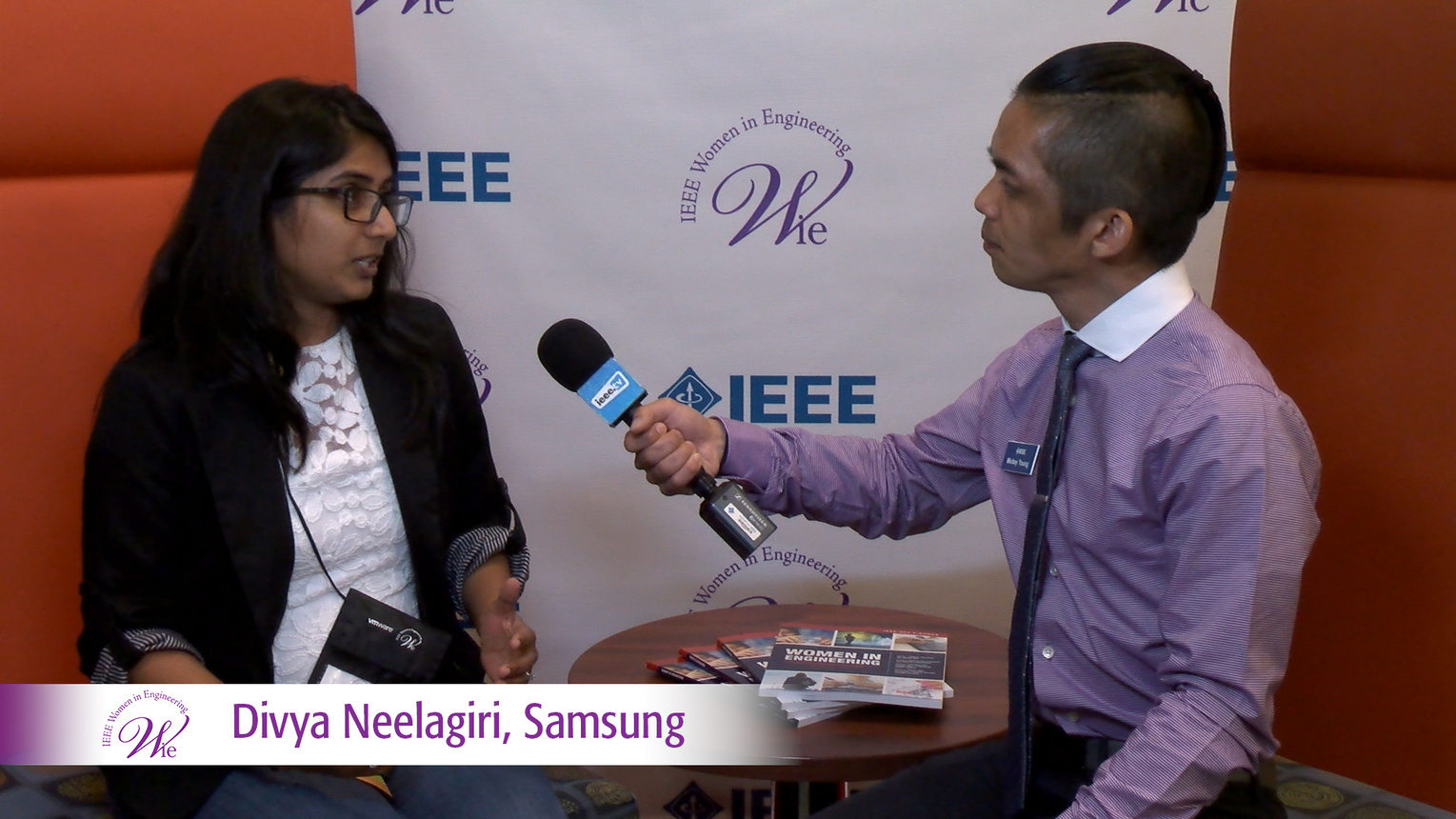 Divya Neelagiri from Samsung Research America at WIE ILC 2016