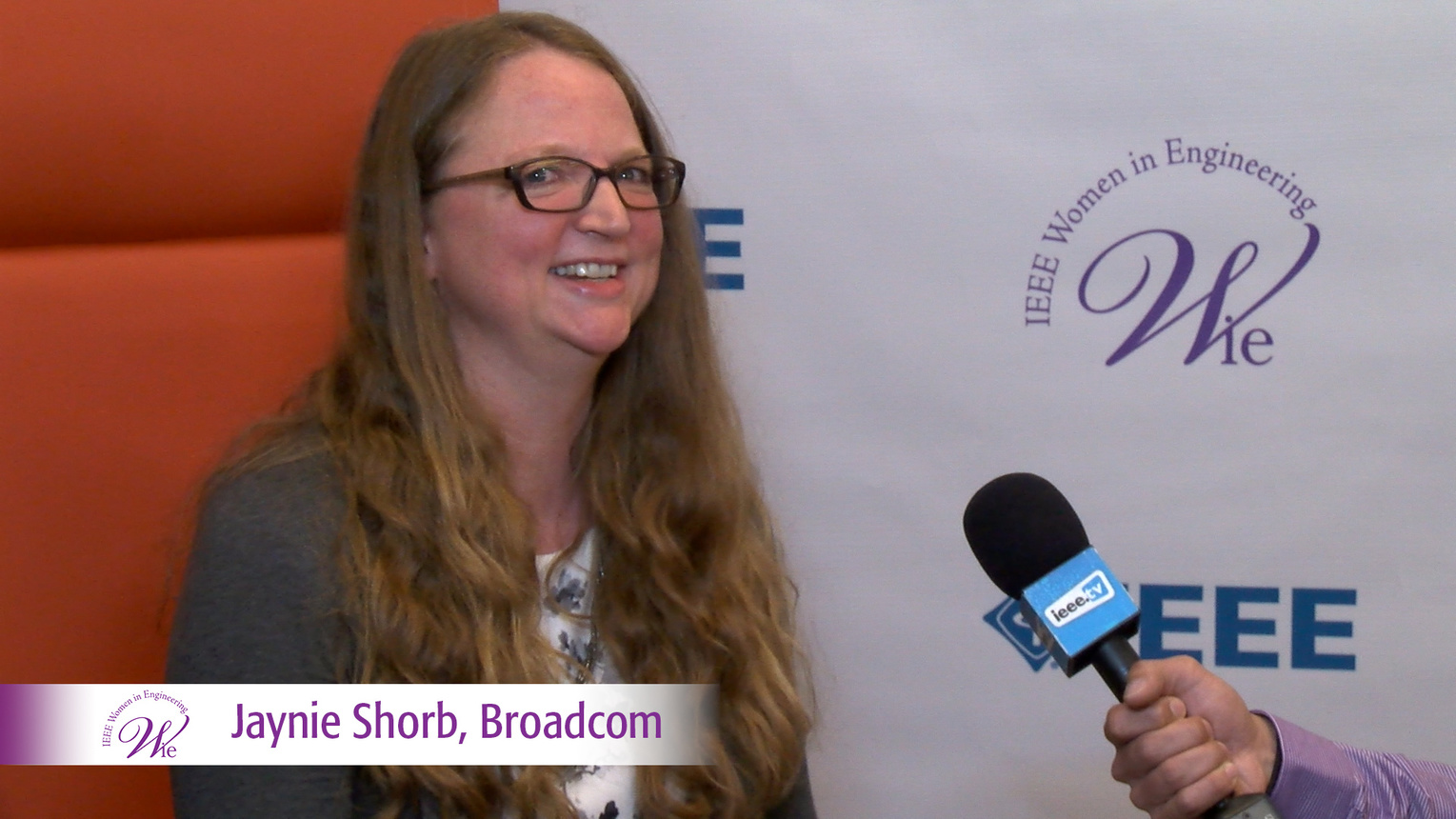 Jaynie Shorb from Broadcom at WIE ILC 2016