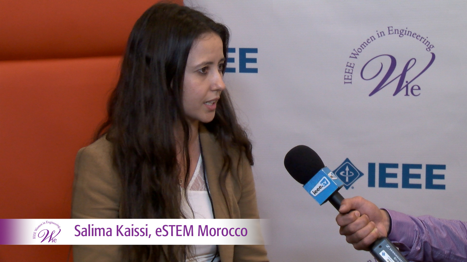 Salima Kaissi from eSTEM Morocco at WIE ILC 2016