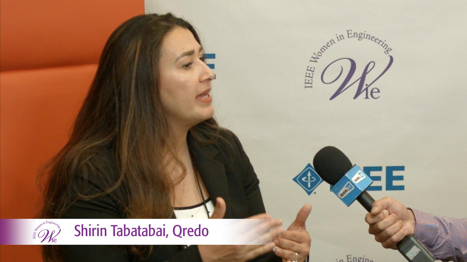 Shirin Tabatabai from Qredo at WIE ILC 2016