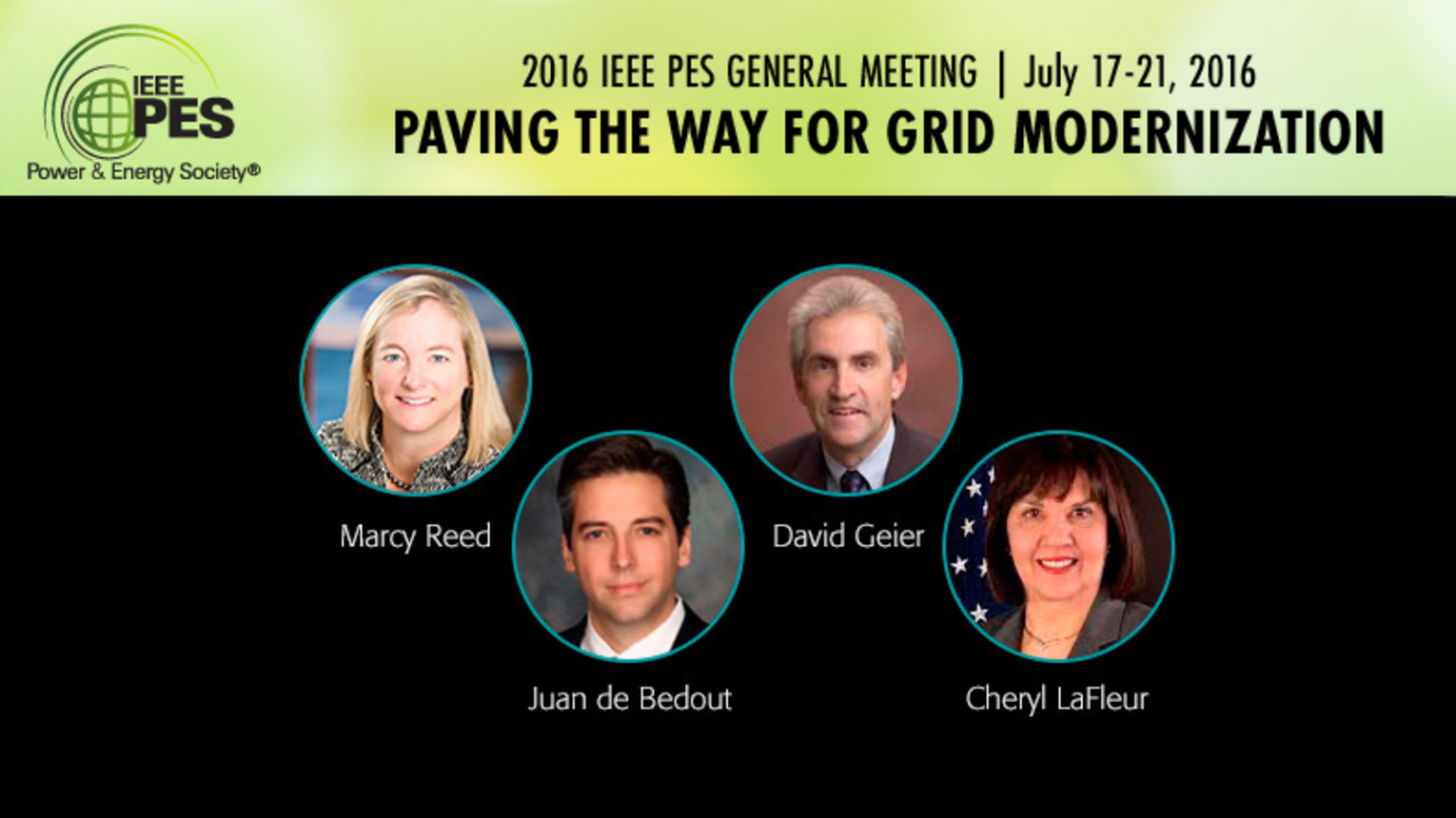 2016 IEEE PES General Meeting: Members Meeting & Plenary Session
