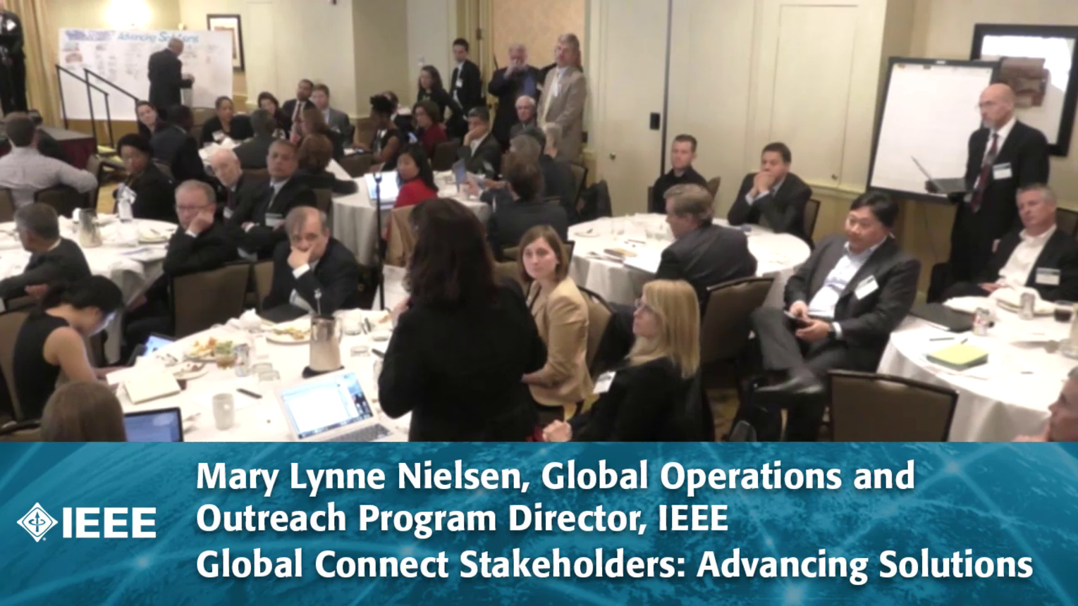 World Cafe & Discussion Report Session #1 - Global Connect Stakeholders: Advancing Solutions