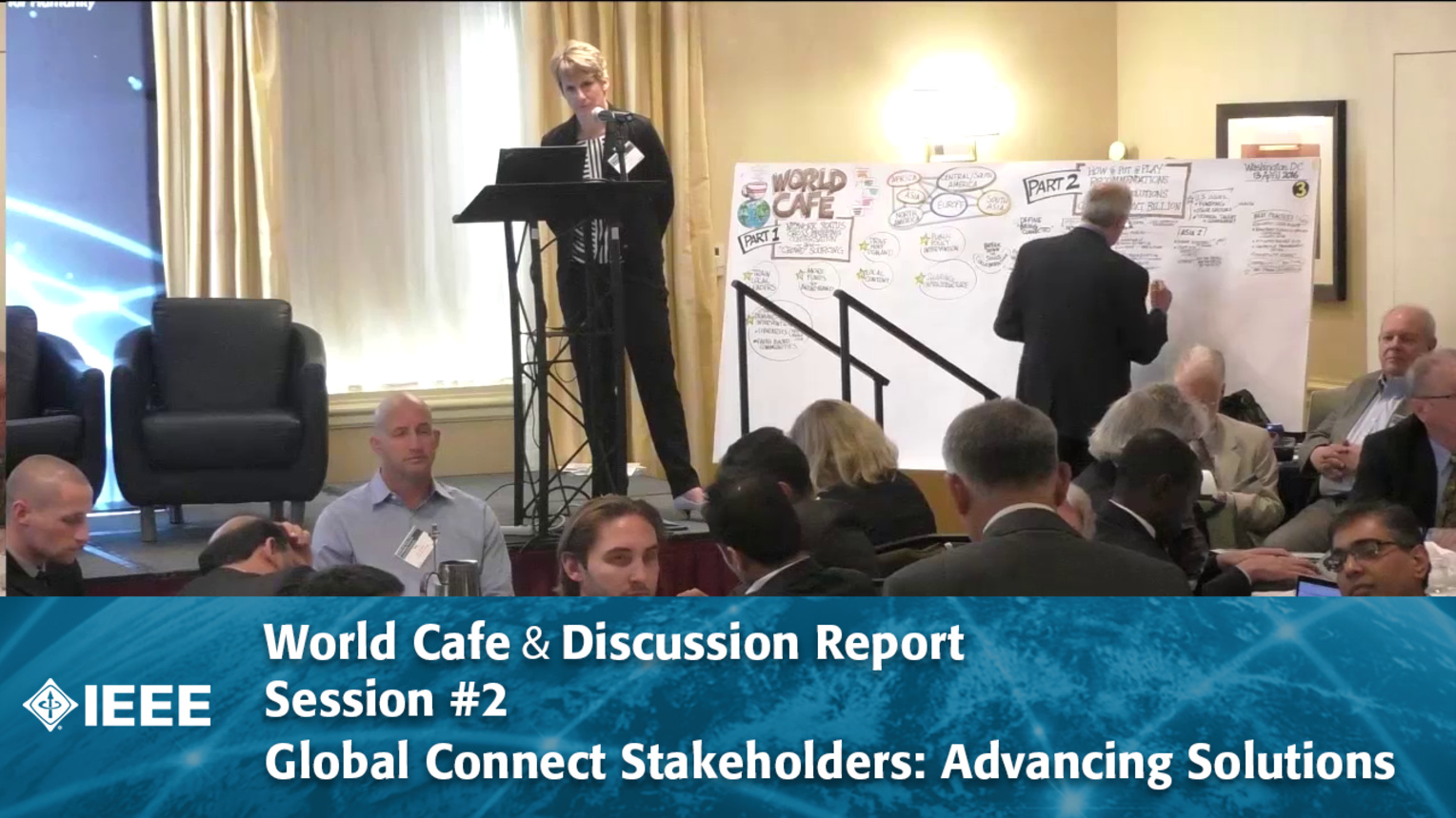World Cafe & Discussion Report Session #2 - Global Connect Stakeholders: Advancing Solutions