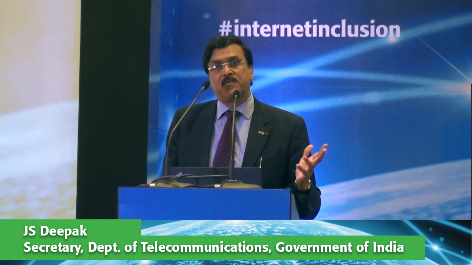 JS Deepak Keynote at Internet Inclusion: Advancing Solutions, Delhi, 2016