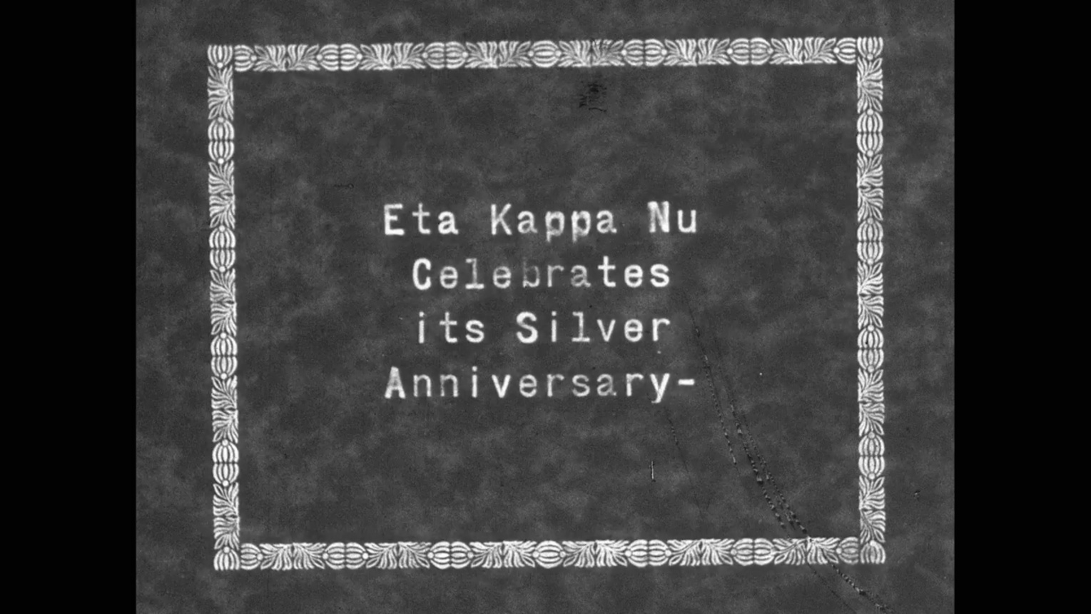 Eta Kappa Nu Silver Anniversary - University of Illinois 1929