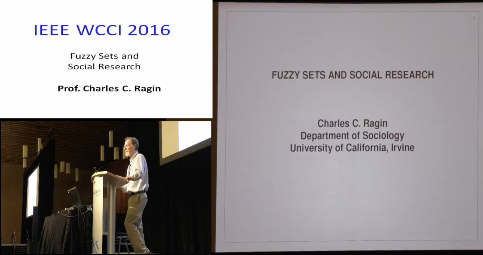Fuzzy Sets and Social Research - Charles C. Ragin - WCCI 2016